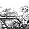 뉴욕타임즈 만평