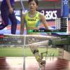 일본의 흔한 육상 장대높이 선수