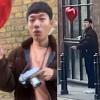 런던 유튜브 몰카에 등장한 낯익은 한국 배우 ㅋㅋㅋ.gif