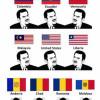 헷갈리는 전세계 국기들