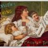 19세기 최고로 인기 있었던 우는아이 달래는 약