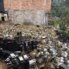 중국 광산에 침수 피해.jpg