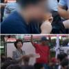 세월호 천막 앞 폭식투쟁할때 피자 나눠준 사람은 엄마부대 주옥순